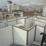 اضافه اُشکوب شرکت جاهد میدان شعاع تهران